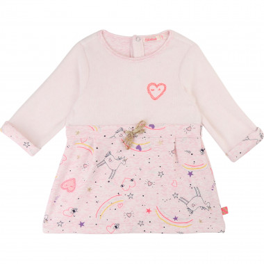 Printed fleece dress BILLIEBLUSH for GIRL