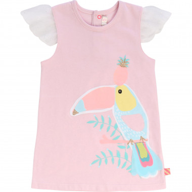 Printed cotton jersey dress BILLIEBLUSH for GIRL