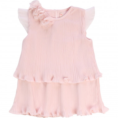 Short-sleeved pleated dress BILLIEBLUSH for GIRL