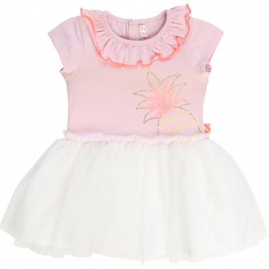 Dual-material tutu-style dress BILLIEBLUSH for GIRL