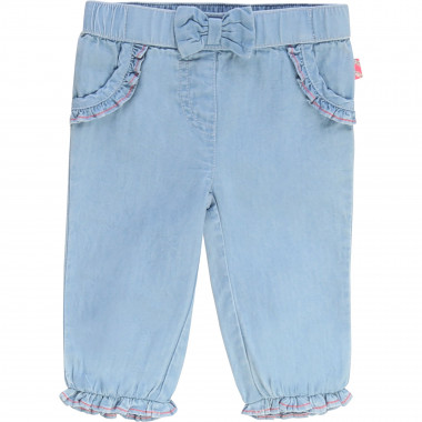 Lightweight denim trousers BILLIEBLUSH for GIRL