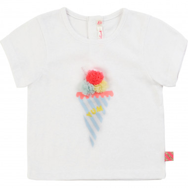 Novelty illustration T-shirt BILLIEBLUSH for GIRL