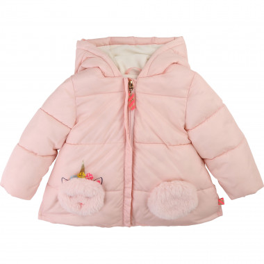 Winter jacket with fur pockets BILLIEBLUSH for GIRL
