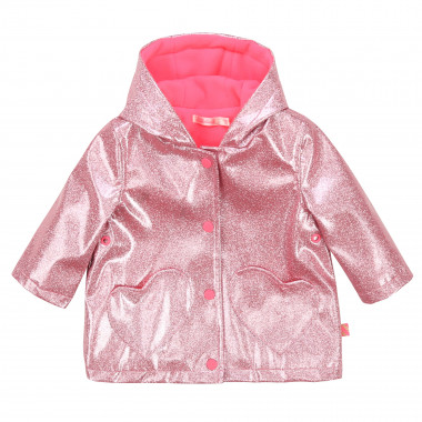 Fleece-lined hooded waterproof BILLIEBLUSH for GIRL
