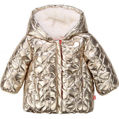 Hooded lined padded jacket BILLIEBLUSH for GIRL