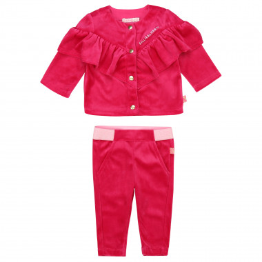 Frilled jogging outfit BILLIEBLUSH for GIRL