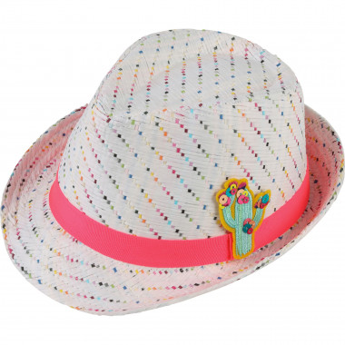 Stylish straw hat BILLIEBLUSH for GIRL