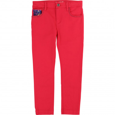 Twill sequin trousers BILLIEBLUSH for GIRL