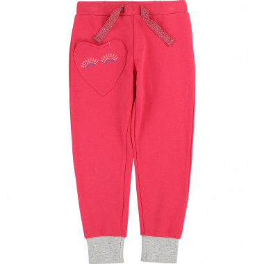 Joggers with heart pocket BILLIEBLUSH for GIRL