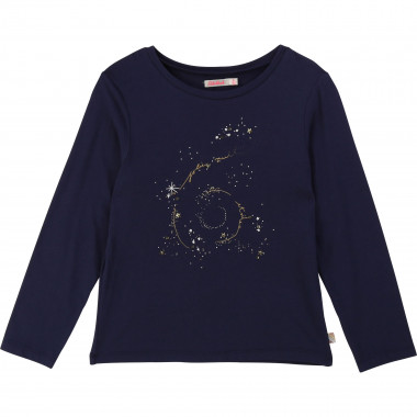 Printed t-shirt with sequins BILLIEBLUSH for GIRL