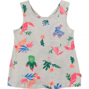 Printed cotton vest top BILLIEBLUSH for GIRL