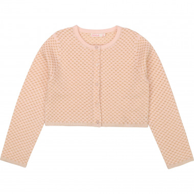 Short cotton cardigan BILLIEBLUSH for GIRL