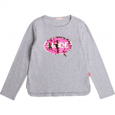 Cotton t-shirt with sequins BILLIEBLUSH for GIRL