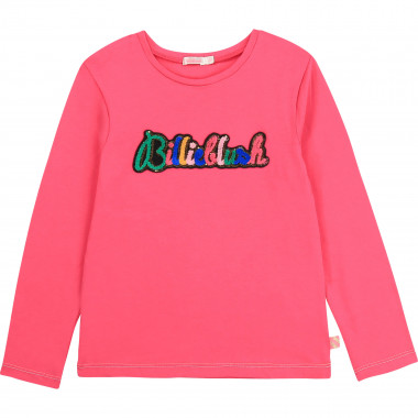 Cotton t-shirt with patch BILLIEBLUSH for GIRL