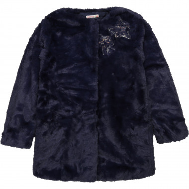 Fur coat with sequins BILLIEBLUSH for GIRL