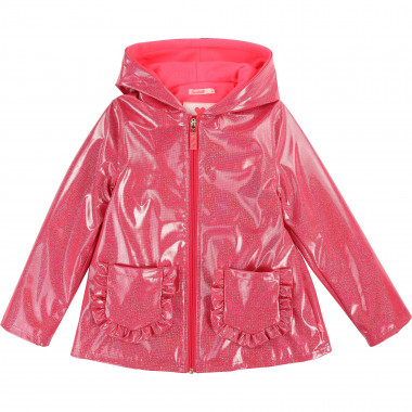 Sequinned raincoat with frills BILLIEBLUSH for GIRL