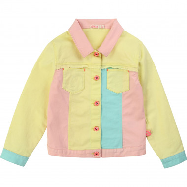 Multicoloured twill jacket BILLIEBLUSH for GIRL