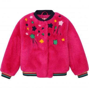 Faux fur bomber BILLIEBLUSH for GIRL