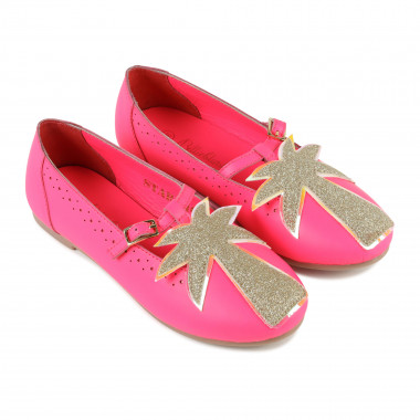 T-strap shoes with patch BILLIEBLUSH for GIRL