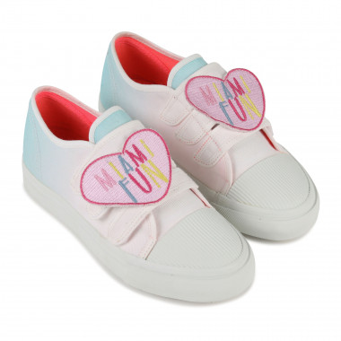 Leather-lined canvas trainers BILLIEBLUSH for GIRL