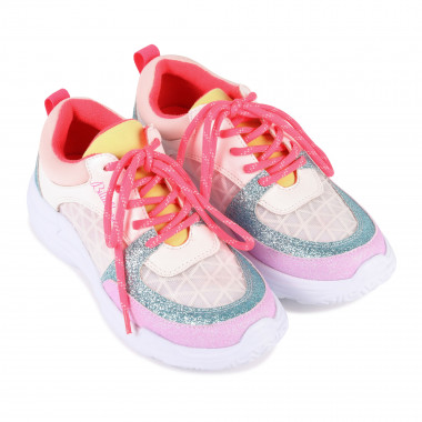 Multi-material trainers BILLIEBLUSH for GIRL