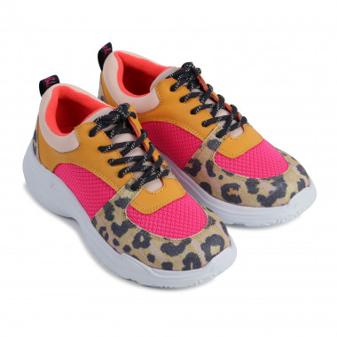 Multi-material low-top trainers BILLIEBLUSH for GIRL