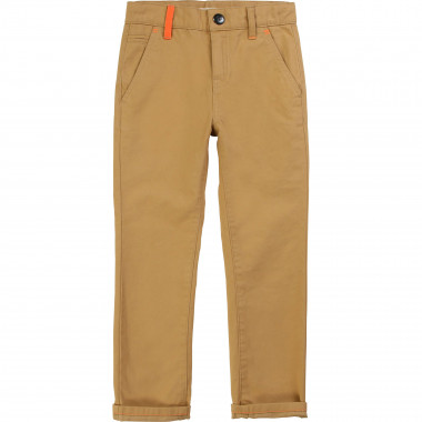 Cotton twill trousers BILLYBANDIT for BOY