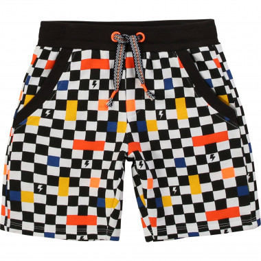 Check-print shorts BILLYBANDIT for BOY