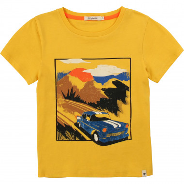 Round-neck T-shirt with print BILLYBANDIT for BOY