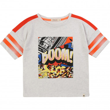 Printed cotton jersey T-shirt BILLYBANDIT for BOY