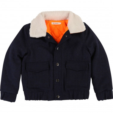 Pea coat with fur collar BILLYBANDIT for BOY