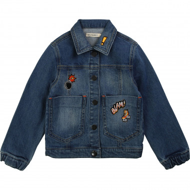 Cotton denim jacket BILLYBANDIT for BOY
