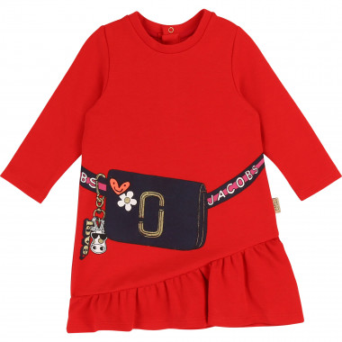 Milano dress with frill LITTLE MARC JACOBS for GIRL