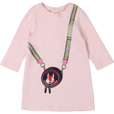 Long-sleeved cotton dress THE MARC JACOBS for GIRL