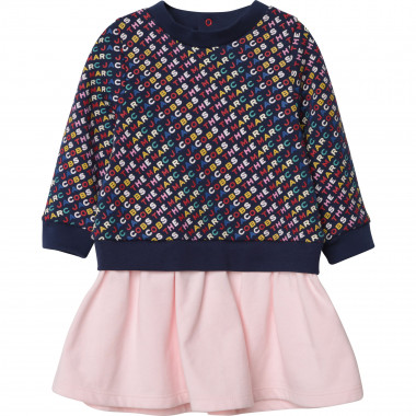 2-in-1 effect dress THE MARC JACOBS for GIRL