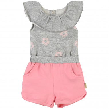 Romper with frills and flowers LITTLE MARC JACOBS for GIRL