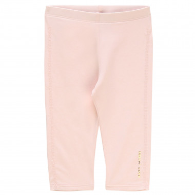 Leggings with sequined stripes LITTLE MARC JACOBS for GIRL