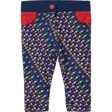 Printed trousers 100% cotton THE MARC JACOBS for GIRL