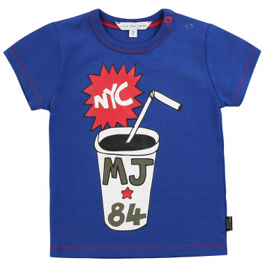 Printed 100% cotton T-shirt LITTLE MARC JACOBS for BOY
