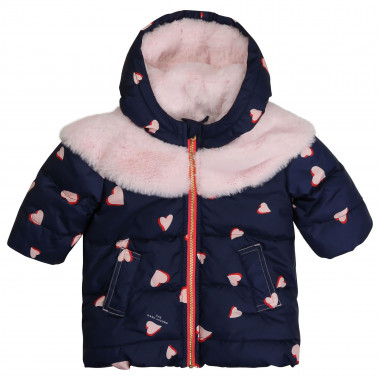Printed hooded winter jacket THE MARC JACOBS for GIRL