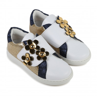 Flowery iridescent trainers LITTLE MARC JACOBS for GIRL