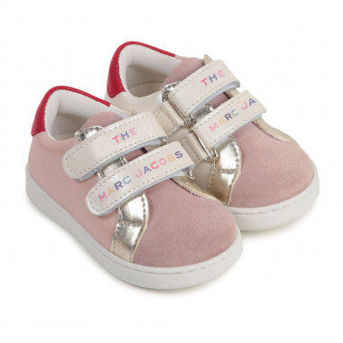 Leather tennis shoes THE MARC JACOBS for GIRL