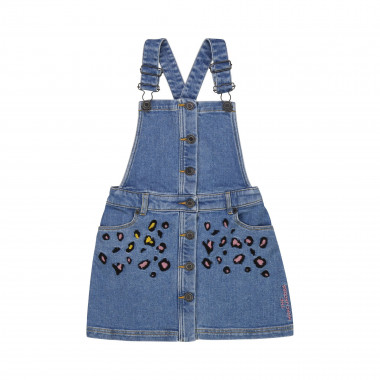 Denim dungaree dress THE MARC JACOBS for GIRL