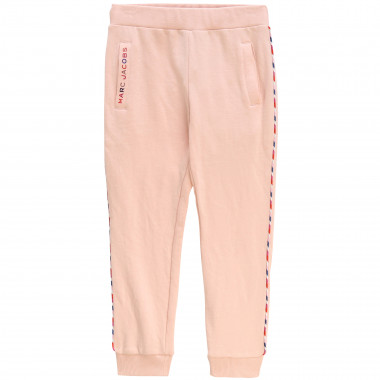 Jogging trousers with trim LITTLE MARC JACOBS for GIRL