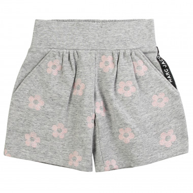 Smocked fleece shorts LITTLE MARC JACOBS for GIRL