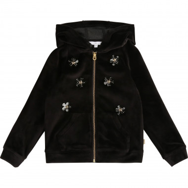 HOODED CARDIGAN LITTLE MARC JACOBS for GIRL