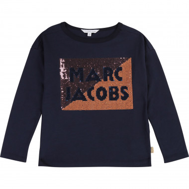 Multicoloured sequin T-shirt LITTLE MARC JACOBS for GIRL