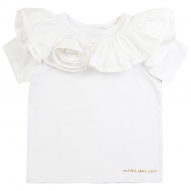 T-shirt with frills THE MARC JACOBS for GIRL
