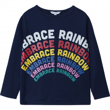 Cotton jersey long-sleeved T-shirt THE MARC JACOBS for GIRL
