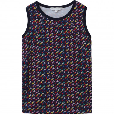 Allover printed vest top THE MARC JACOBS for GIRL